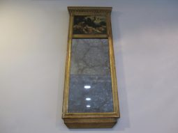 Italian Trumeau Mirror,