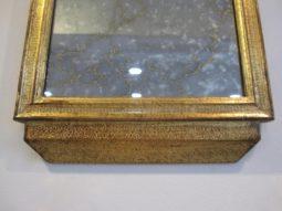 Petite Italian Trumeau Mirror,