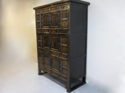 Antique Korean Chest, Armoire, elm
