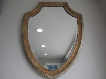 Shield Shaped Mirror