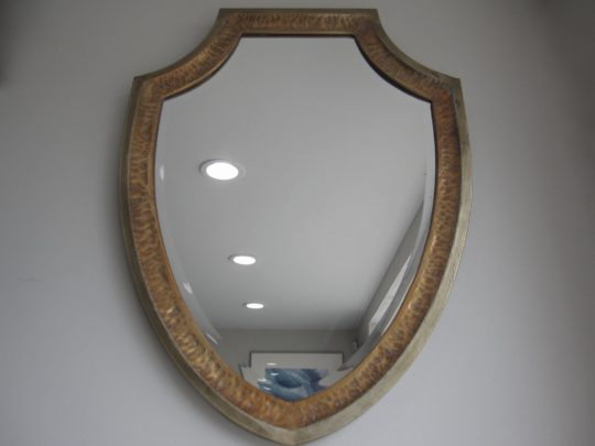Shield Shaped Mirror