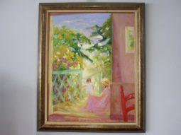 Elyane Addari , French Artist,Impressionist, Oil on Canvas,