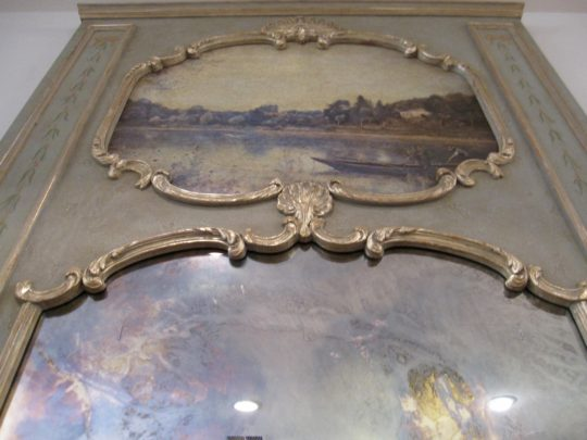 "Trumeau Mirror, Reproduction, Antique Mirror, Impactful Dimensions: 38""w x 69"", Purchased From Washington Design Center, Retail $5,000"