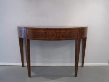 Decorative Crafts Inc., Console Table, Demilune, Hand Made in Italy