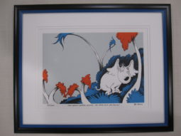 THE ART OF DR SEUSS, HORTON, THE SPECK VOICE WAS TALKING! Limited edition of 2500
