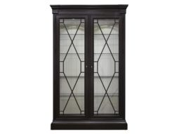Display Cabinet, China Cabinet, Chippendale Grille