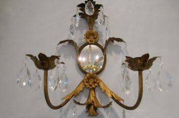 Sconces, Candle, Crystal