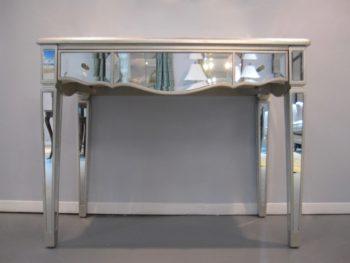 Mirrored Console Desk table