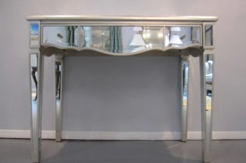 Mirrored Console Desk table