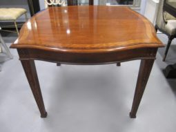 Serpentine, Chippendale Mahogany Dining Table
