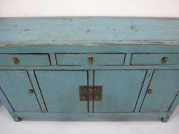 Chinese Asian Elmwood Cabinet, Sideboard, Server