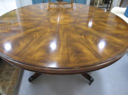 "65"" Diameter Round Regency Dining Table"