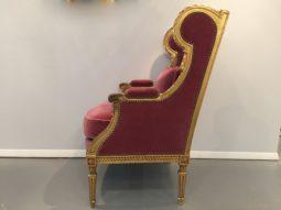 Bergere Arm Chair French Louis XVI