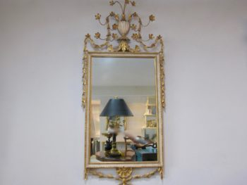 Adam Period Mirror, Gold Gilt