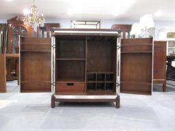 Aviator Trunk Bar Cabinet, LUDLOW TRUNK WITH STAND BAR