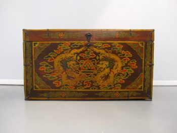 Tibetan Trunk, Antique Trunk