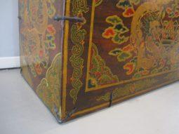 Tibetan Trunk, Antique Trunk