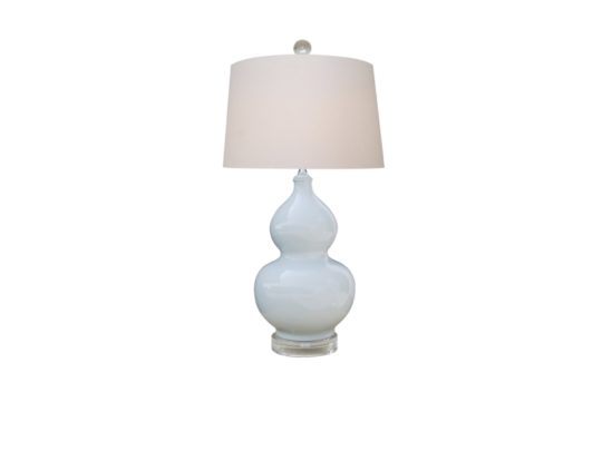 Double Gourd Porcelain Lamp Consignment